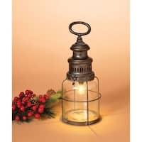 Gerson  Vintage  Christmas Lantern  Metal/Glass  1 pk