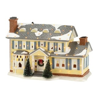 Department 56 Christmas Vacation Griswold Holiday Home Porcelain Village House Multicolored 1 each