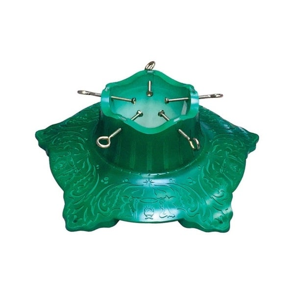 Jack Post Christmas Tree Stand: Shop Jack Post Steel Green Christmas Tree Stand 10 Ft