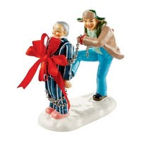 Department 56  Christmas Vacation Present for Clark  Village Accessory  Multicolored  Porcelain  1 each