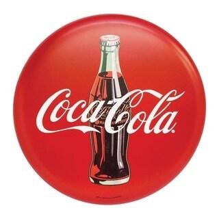 Open Road Coca-Cola 24 in. H x 1.9 in. W x 24 in. L Red Metal Tin Sign