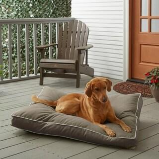 Sunbrella Taupe w/ Ivory Fiber Pet Bed