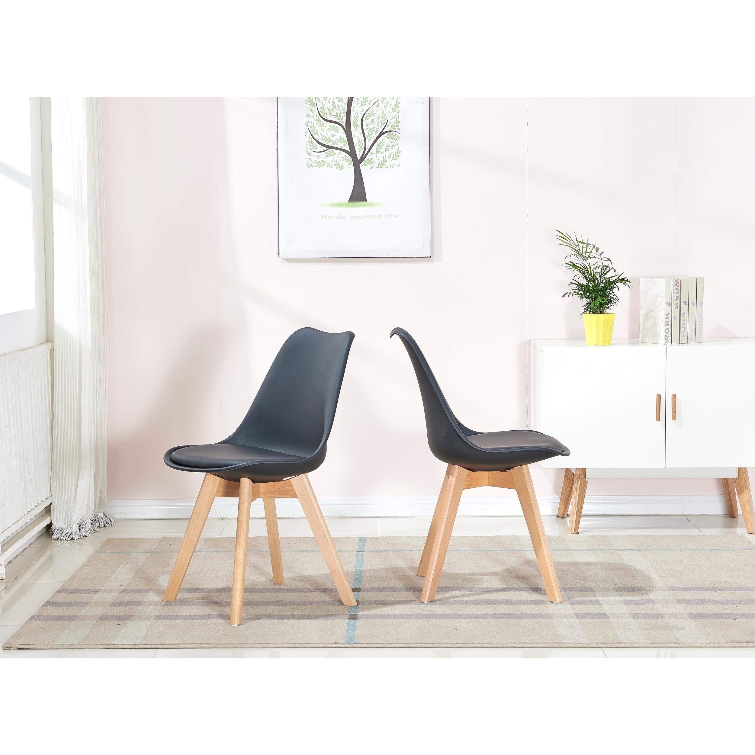 Best Master Furniture Mid Century Modern 5 Pieces Dining Set