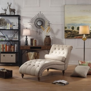 ROSEVERA Jacinto Tufted Chaise Lounge Chair