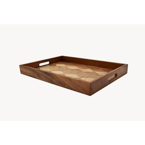 222 Fifth Zesho Rectangle Serve Tray