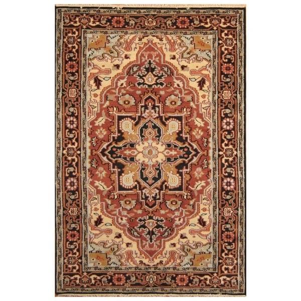 Handmade Serapi Wool Rug (India) - 3' x 5'. Opens flyout.