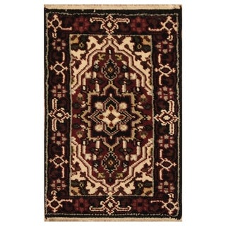 Link to Handmade Serapi Wool Rug (India) - 2' x 3' Similar Items in Rugs