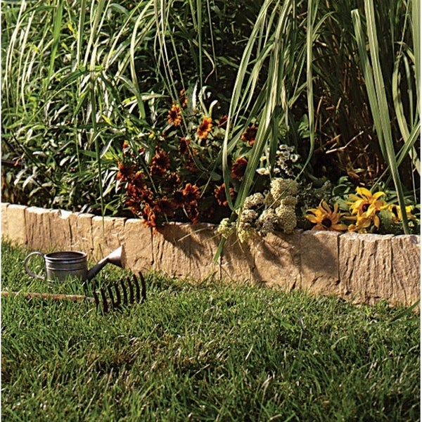 L Lawn Edging Tan Resin Free Shipping On Orders Over 45 22884910