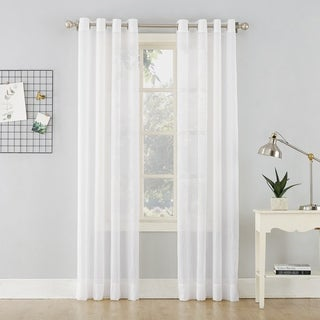 Link to No. 918 Erica Crushed Sheer Voile Grommet Curtain Panel Similar Items in Window Treatments