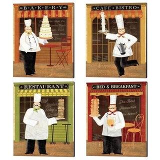 Veronique Charron 'Chef's Specialties' Canvas Art (Set of 4)