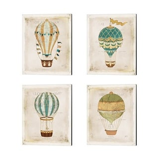Katie Pertiet 'Balloon Expo' Canvas Art (Set of 4)
