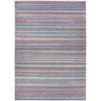 Ruggable Washable Stain Resistant Pet Area Rug Striped Multicolor - 5' x 7'