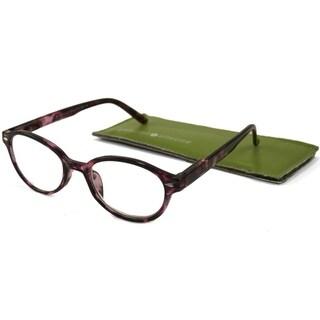 Gabriel + Simone Nanette Purple Tortoise Women Reading Glasses