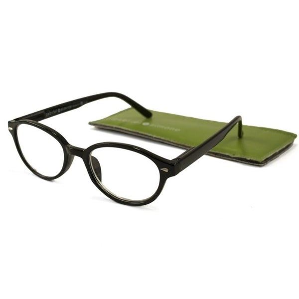 15ace8e74f Shop Gabriel + Simone Nanette Black Women Reading Glasses - Free Shipping  On Orders Over  45 - Overstock - 22885366