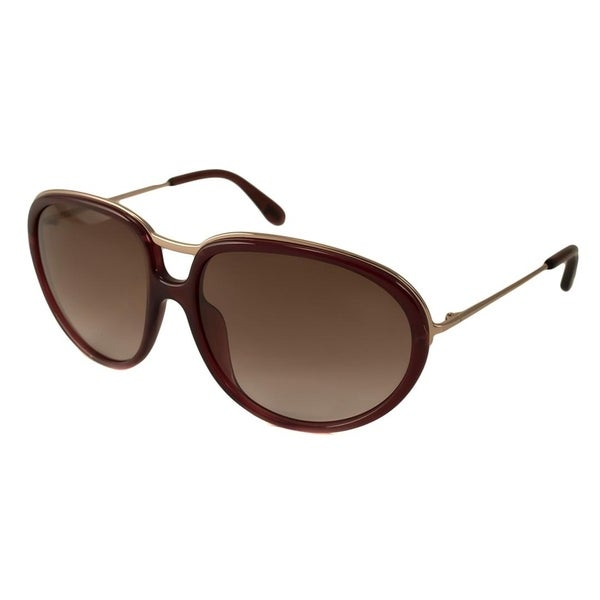 ec7dc13e70a83 Shop Tom Ford Faye Women Sunglasses - Red - Free Shipping Today - Overstock  - 22885377