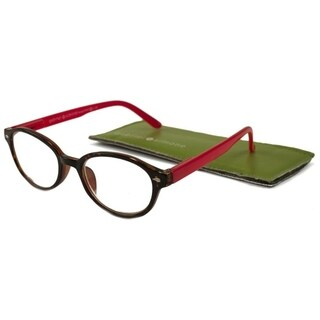 Gabriel + Simone Nanette Tortoise Red Women Reading Glasses