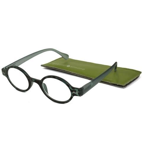 Gabriel + Simone Remi Black Grey Tortoise Unisex Reading Glasses