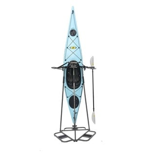 Vertical Space Saving Rack for Kayak and SUP Storage Bronze