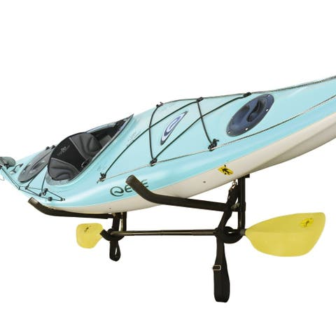Sparehand Wall Mounted Single Kayak or SUP Storage Rack