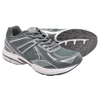 Crossport Cyclone Running Shoes Gray and White
