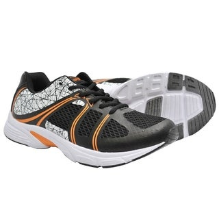 Crossport Cyclone Running Shoes Black Orange
