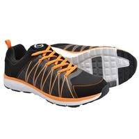 Crossport Montecito Bay Running Shoes Black and Orange