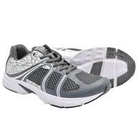 Crossport Blast Running Shoes Gray and White