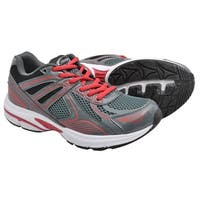Crossport Cyclone Running Shoes Gray Red Black