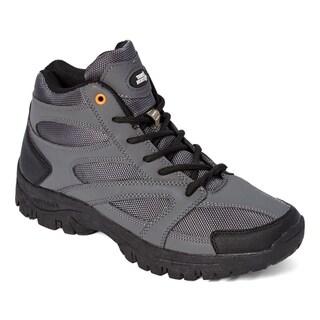True North Taos Mid Mens Boots Gray and Black