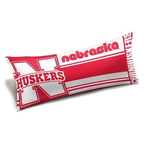 COL 159 Nebraska Seal Body Pillow