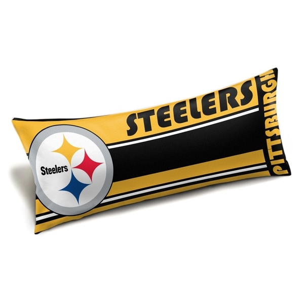 NFL 15901 Steelers Seal Body Pillow