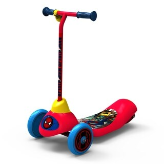 Spider-Man Safe Start 3-Wheel Electric Scooter