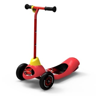 Disney Cars Safe Start 3-Wheel Electric Scooter