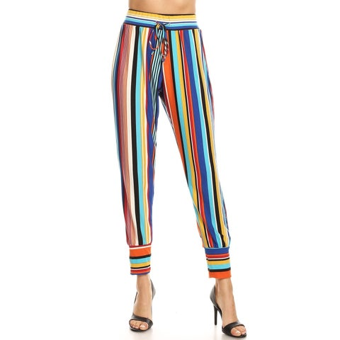 Women's Multi-Colored Harlem Pants