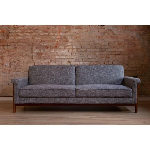 Sensational Shop Ainsley Mid Century Modern Grey Upholstered Sleeper Ncnpc Chair Design For Home Ncnpcorg