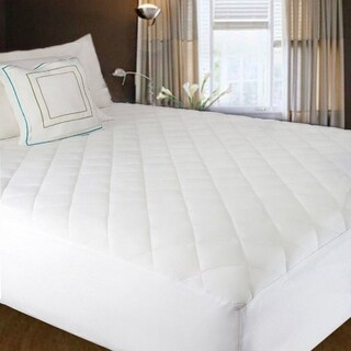 2PCS King Size Waterproof Bed Mattress Protecting Cover - White