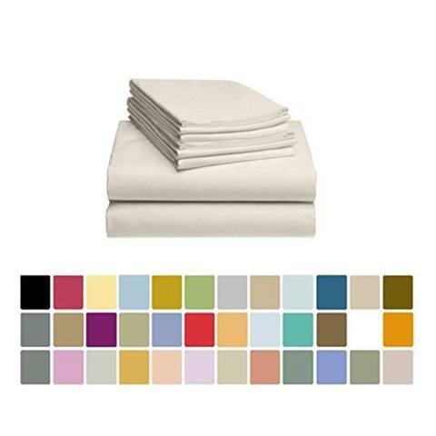 6 Piece Polyester Microfiber Series Bed Sheet Set Bedding Sheet Kit