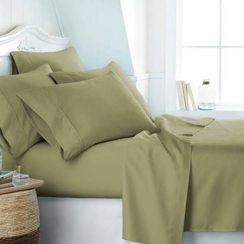 Polyester Microfiber Bed Sheet Set 6 Piece Series Bedding Sheet Kit