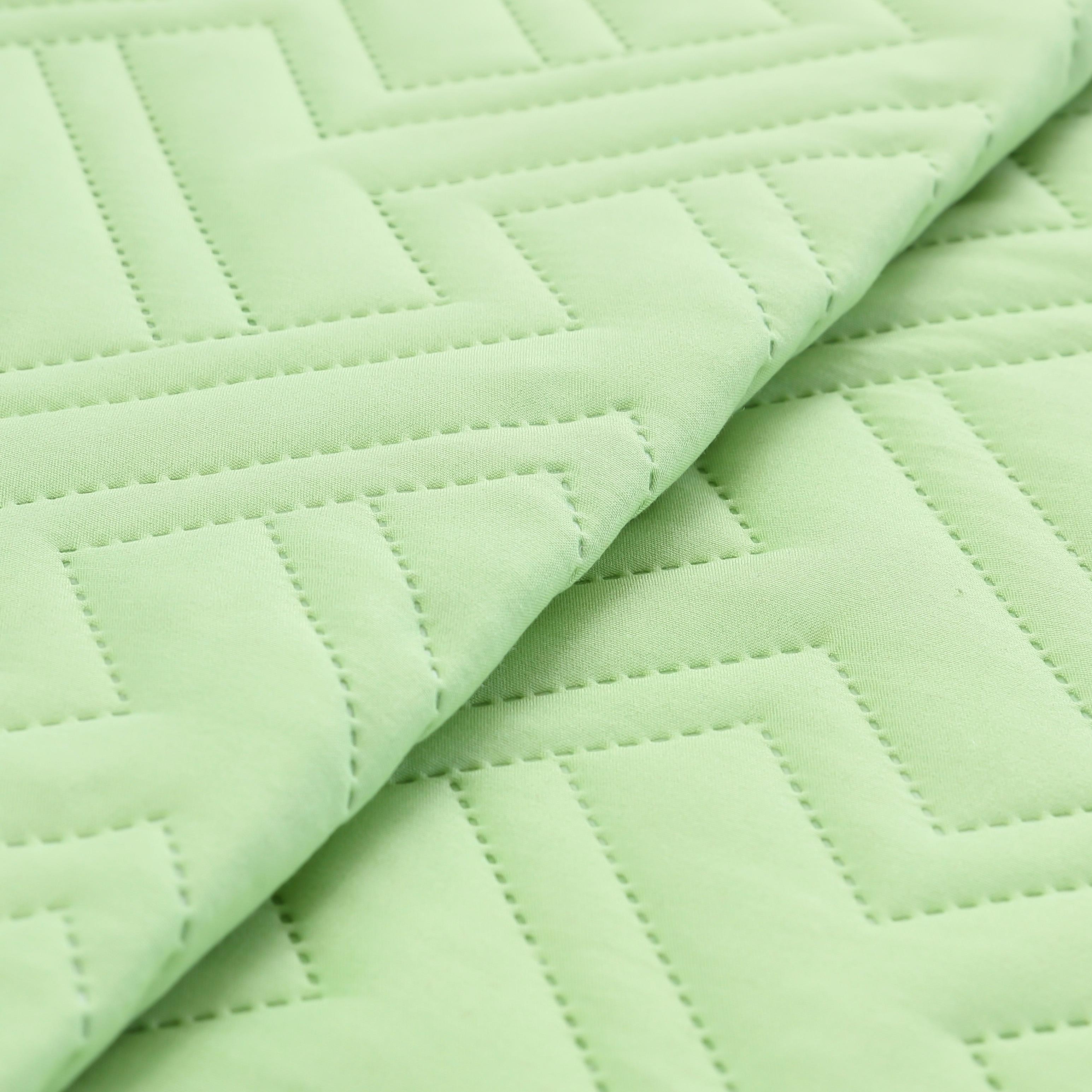Nile Green King Size 4 Piece Embossed Sheet Set Oversized