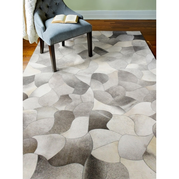 Shop Grayson Cowhide Area Rug 9 X 12 On Sale Free