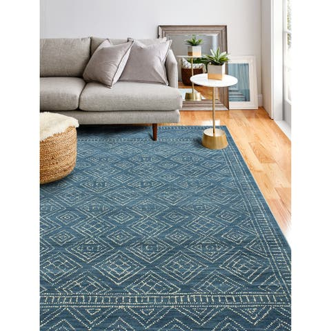 Ester Transitional Hand Tufted Area Rug