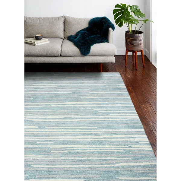 Marge Contemporary Hand Tufted Area Rug. Opens flyout.