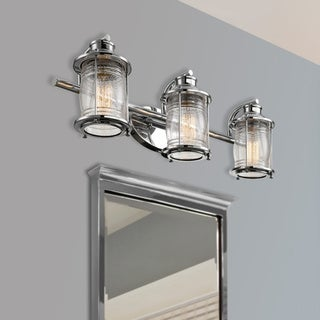 Link to Copper Grove Cherkasy 3-light Chrome Vanity Similar Items in Bathroom Vanity Lights
