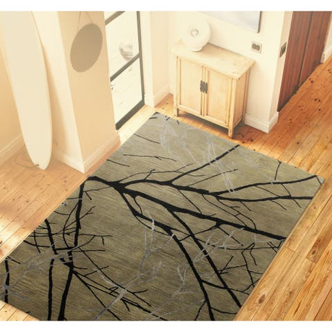 Claire Contemporary Hand Tufted Area Rug