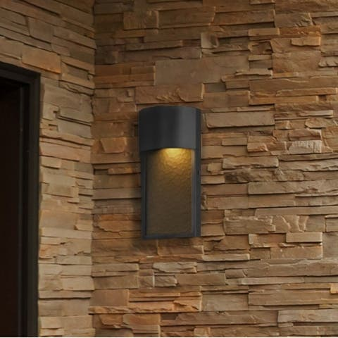 New Richmond 8.5-watt Integrated LED Bronze Outdoor Wall Sconce by Havenside Home