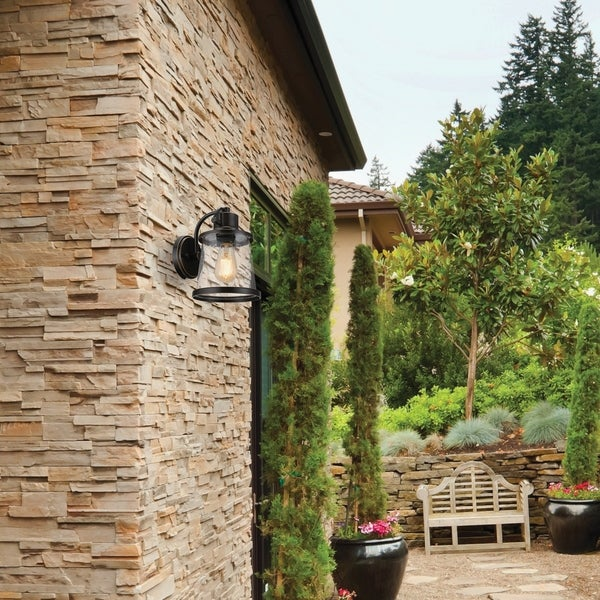 Charlie Outdoor Wall Sconce, LED Bulb Included. Opens flyout.