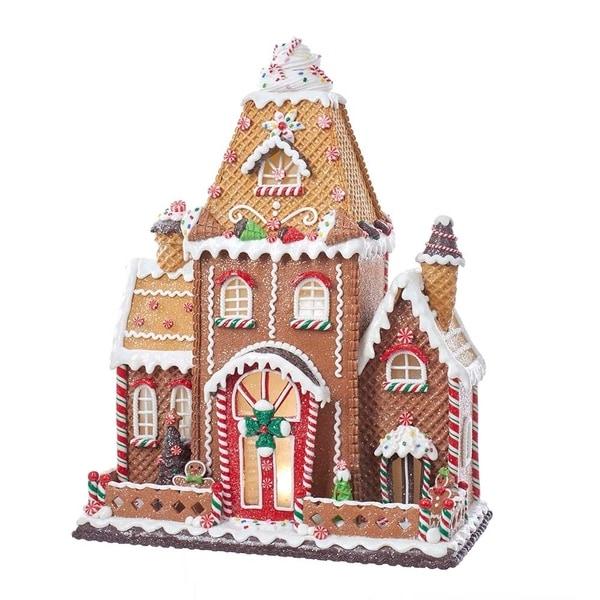 Shop Kurt Adler Fancy Clay Dough Gingerbread House Free