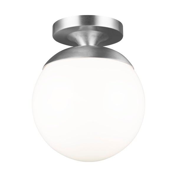 Leo Hanging Globe 1 Light Led Semi Flush Mount On Sale Overstock 22887720