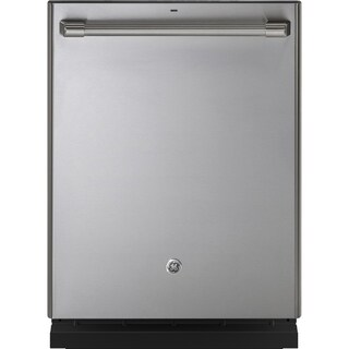 GE Café Series Stainless Interior Built-In Dishwasher with Hidden Controls - N/A