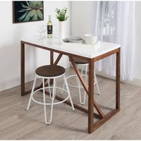 Kate and Laurel Kaya Counter Height Pub Table - 48x24x36